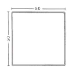 Albet – Wymiary Płyta chodnikowa 50 x 50 cm